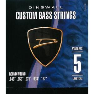DINGWALL CUSTOM BASS STRINGS [STAINLESS 5ST] SET R...