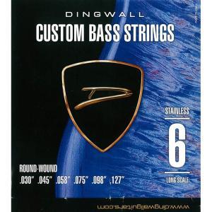 DINGWALL CUSTOM BASS STRINGS [STAINLESS 6ST] SET R...
