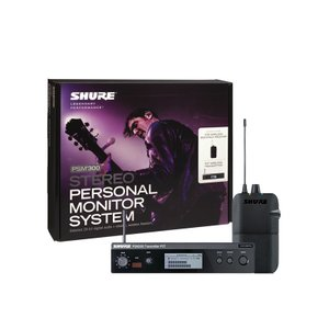 SHURE P3TR PSM300 SYSTEM, WITHOUT EARPHONES 【安心の正規...