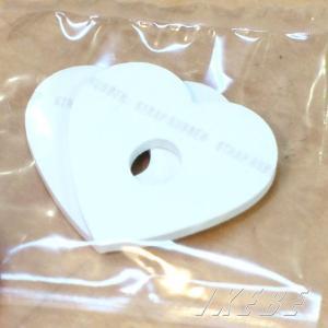 "HARRY'S STRAP RUBBER ""HEART"" (2枚入り) [WHITE]"