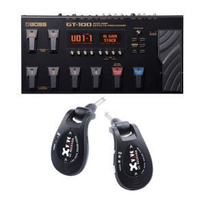 BOSS GT-100 ver.2 & XV-U2 Digital Wireless [BLACK]...