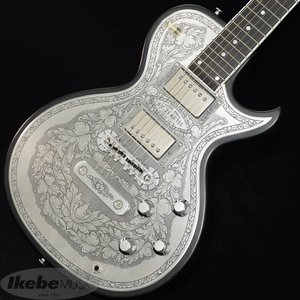 ZEMAITIS Custom Shop Metal Front Series CS24MF 2B BK 【キズ有り特価】|ikebe-revole