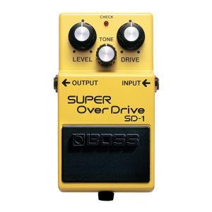 BOSS ボス エフェクター / SD-1〈SUPER Over Drive〉(オーバードライブ) / 期間限定送料無料 / ポイント5倍|ikebe