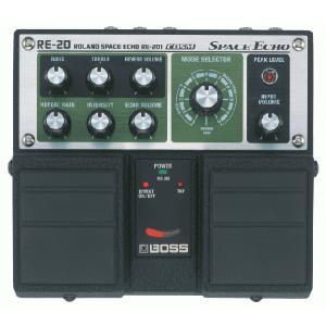 BOSS ボス エフェクター / RE-20(Space Echo) ディレイ/リバーブ / 期間限定送料無料|ikebe