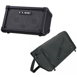Roland ローランド / CUBE Street Black (Battery Powered Stereo Amplifier)/ 専用ケースCB-CS1プレゼント!|ikebe