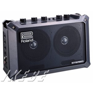 ROLAND ローランド / MOBILE CUBE (Battery Powered Stereo Amplifier)|ikebe