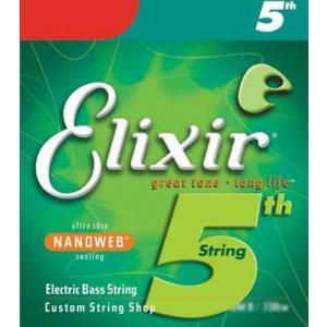 ELIXIR / Bass Strings with ultra-thin NANOWEB Coating 5th/Low-B (130/Long)#15430 ベース弦|ikebe