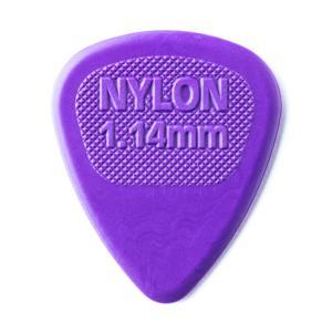 Dunlop (Jim Dunlop) ジム ダンロップ / Midi Standard 443R Nylon×10枚セット (1.44mm/パープル)|ikebe