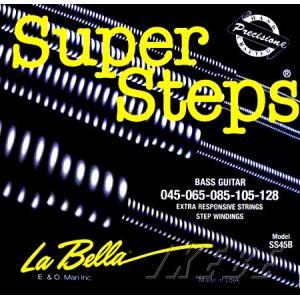 La Bella ラベラ / Super Steps SS45B (045-128) 5弦ベース弦|ikebe
