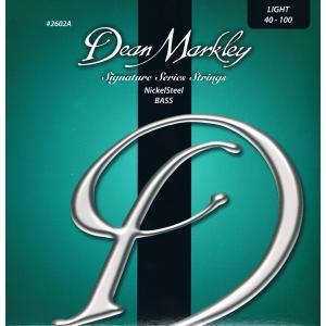 Dean Markley / Nicklel Steel Bass Strings (2602A LT/040-100) 4弦用エレキベース弦|ikebe