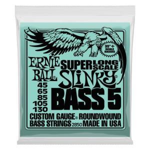 ERNIE BALL / #2850 Super Long Scale Slinky Bass 5-string 5弦ベース弦|ikebe