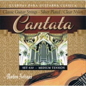 MEDINA ARTIGAS / CANTATA SERIES Classic Guitar Strings (630 Midium Tension) ikebe