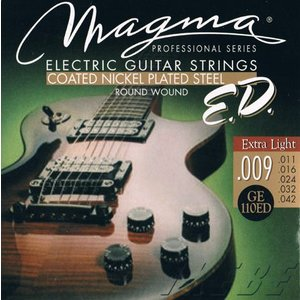 MAGMA STRINGS / EXTENDED LIFE COATED NICKEL PLATED STEEL GE110ED (Extra Light 09-42) エレキギター弦|ikebe