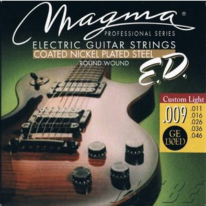 MAGMA STRINGS / EXTENDED LIFE COATED NICKEL PLATED STEEL GE130ED (Custom Light 09-46) エレキギター弦|ikebe