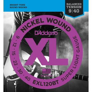 D'Addario ダダリオ / EXL120BT Nickel Wound,Balanced Te...