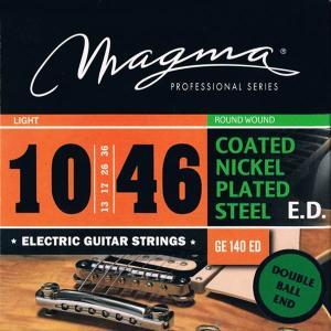 MAGMA STRINGS / DOUBLE BALL END - COATED Nickel Plated Steel GE140EDDB (Light 10-46) エレキギター弦|ikebe