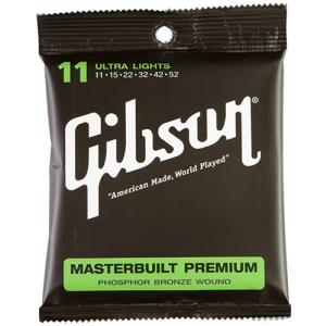 Gibson / Masterbuilt Premium Phosphor Bronze Acoustic Guitar Strings (Ultra Lights/011-052) ikebe