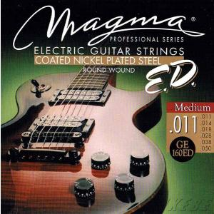 MAGMA STRINGS / EXTENDED LIFE COATED NICKEL PLATED STEEL GE160ED (Medium 11-50) エレキギター弦|ikebe