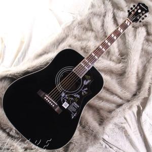 エピフォン アコースティックギター Epiphone / Limited Edition Hummingbird PRO (Ebony) (特典付) ikebe