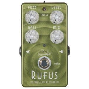 """オクターブ・モードを搭載し、新たに""""オクターブ・ファズペダル""""として生まれ変わったRufus Rel..."""