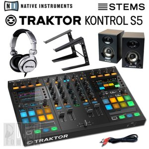 Native Instruments TRAKTOR KONTROL S5 STEMS DJスタートセットA (STEMS ANNIVERSARYキャンペーン価格)