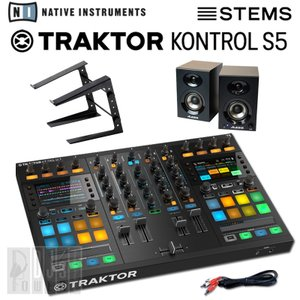 Native Instruments TRAKTOR KONTROL S5 STEMS DJスタートセットC (STEMS ANNIVERSARYキャンペーン価格)