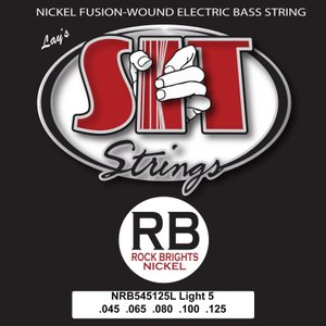 SIT / ROCK BRIGHTS Nickel Round Wound Fusion Wound (NRB545125L/5-STRING LIGHT)|ikebe
