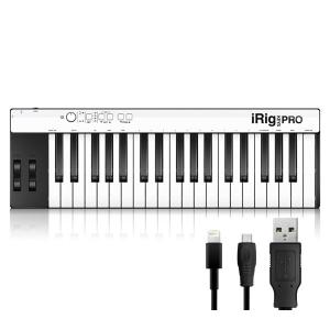 IK MULTIMEDIA iRig KEYS PRO (Lightning(iOS用)、OTG to USB、USBケーブル付属)|ikebe