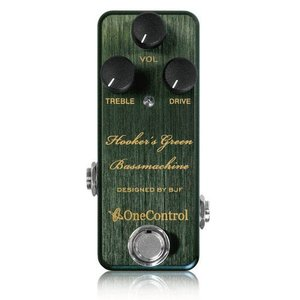 One Control / Hooker's Green Bass Machine / 9月25日入荷予定|ikebe