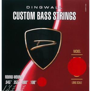 DINGWALL / CUSTOM BASS STRINGS (NICKEL 4ST) SET RO...