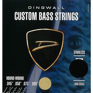 DINGWALL / CUSTOM BASS STRINGS (STAINLESS 4ST) SET...