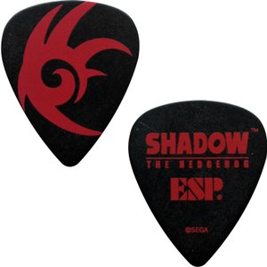 ESP / ESP×SONIC SHADOW THE HEDGEHOG 15th Anniversary Pick×10枚セット (SD-T-SHADOW)|ikebe