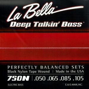 La Bella ラベラ / 750N Black Nylon Tape Wound (4strings)|ikebe