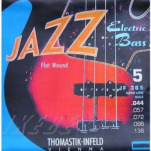 Thomastik-Infeld / Electric Bass Strings JF365 (Nickel Flat Wound Roundcore Bass Strings for Super Long Scale 36 inch 5-strings)|ikebe