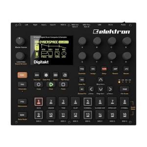 Elektron digitakt (8ボイスドラムマシン&サンプラー)【期間数量限定!2019 ブラック・ウィークス・キャンペーン】