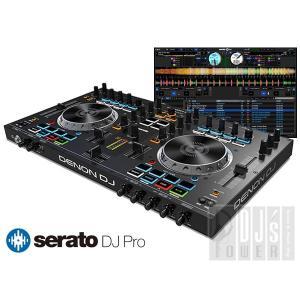 DENON DJ MC4000 + Serato DJ ライセンス SET (Serato DJパーフェクトガイドプレゼント)|ikebe