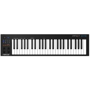 ■演奏性、操作性を追求したシンプルな49鍵のUSB/MIDIキーボードコントローラー  IMPACT...