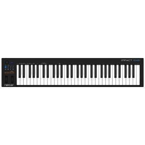 ■演奏性、操作性を追求したシンプルな61鍵のUSB/MIDIキーボードコントローラー  IMPACT...