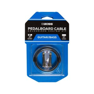 BOSS / BCK-2 (Pedalboard cable kit, 2connectors, 0.5m) ソルダーレスケーブル / 11月11日発売予定|ikebe