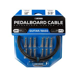 BOSS / BCK-12 (Pedalboard cable kit, 12connectors, 3.6m) ソルダーレスケーブル / 11月11日発売予定|ikebe