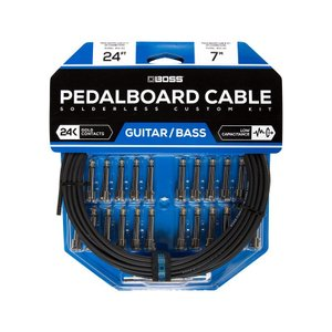 BOSS / BCK-24 (Pedalboard cable kit, 24connectors, 7.3m) ソルダーレスケーブル / 11月11日発売予定|ikebe