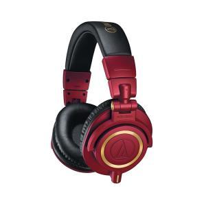 audio-technica ATH-M50xRD (ワインレッド限定カラーモデル)|ikebe