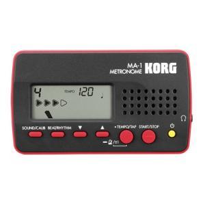 KORG コルグ / MA-1-BKRD(ブラック&レッド)/ 数量限定箱ボロ特価 ikebe