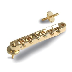 ギブソン純正ブリッジ  Gold ABR- 1 w/full assembly  ※店頭、または通信...