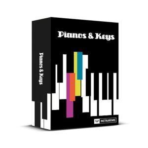 WAVES Pianos and Keys(オンライン納品専用) ※代金引換はご利用頂けません。(期間限定特価)|ikebe