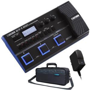 別売の専用アダプター「BOSS PSA100S」、及び純正ケース「CB-GT1」のセット!  GT-...