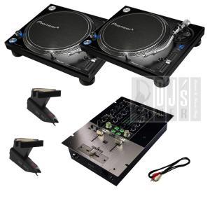 DJ/クラブシーンが求める操作性と優れた音質を実現したプロフェッショナルターンテーブル2台と初心者向...