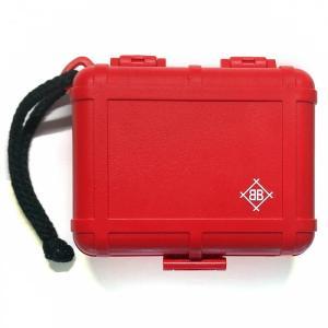 Black Box Cartridge Case [Red] (ヘッドシェル・カートリッジ・レコード針ケース)|ikebe