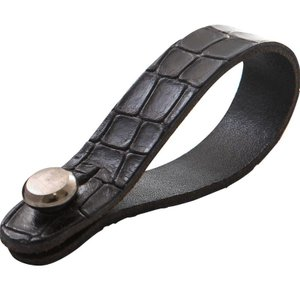RIGHTON STRAPS / STRAPLINK (ALLIGATOR/BLACK)|ikebe