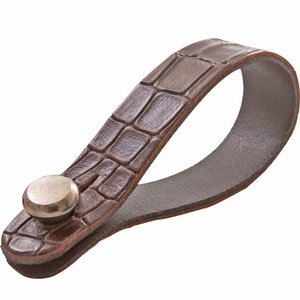 RIGHTON STRAPS / STRAPLINK (ALLIGATOR/BROWN)|ikebe